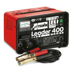 CARICABATTERIE LEADER 400 START 12/24V 230V