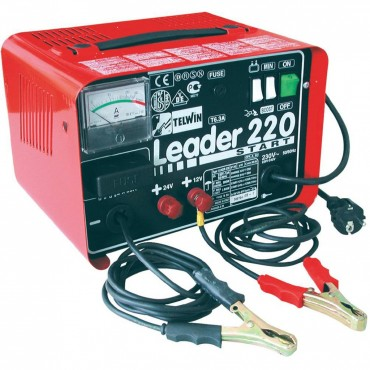 CARICA BATTERIE LEADER 220 12/24V