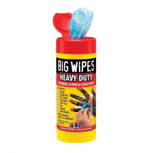 PANNI BIG WIPES HEAVY-DUTY TAPPO ROSSO TUBO 80 PZ. 80007
